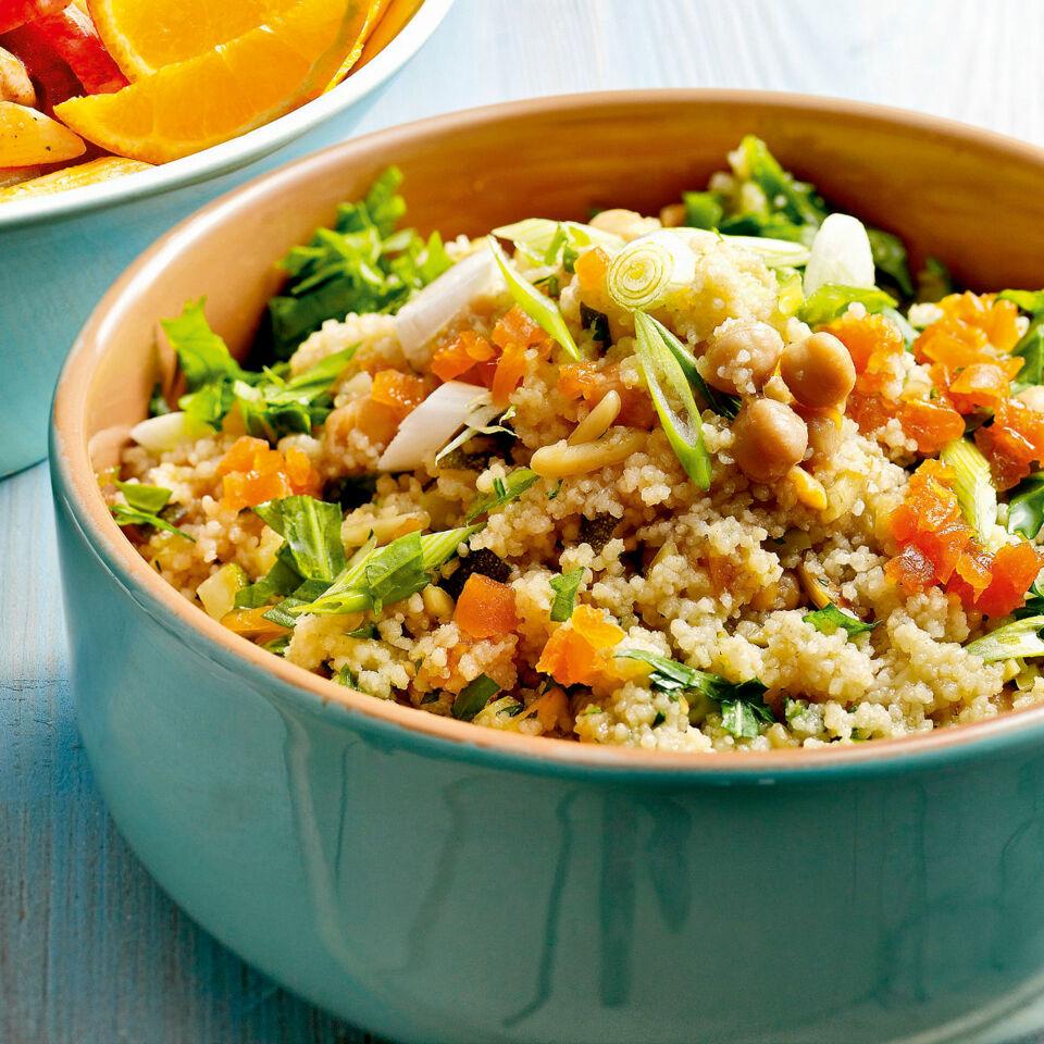 Couscous Salat Pikant