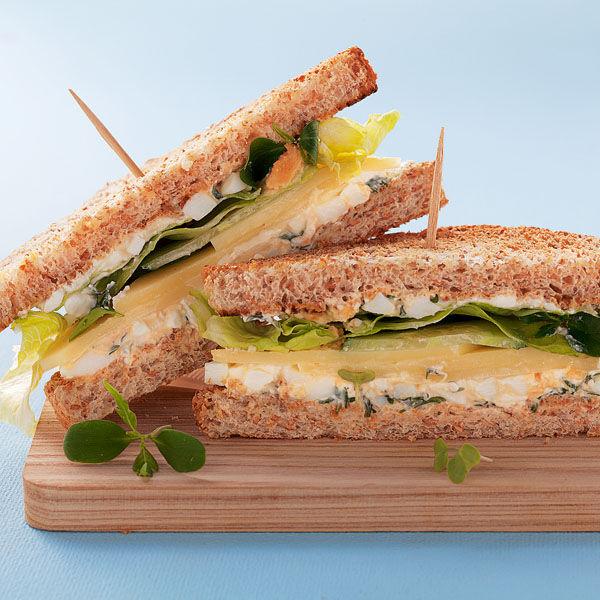 Vegan Sandwich Cake