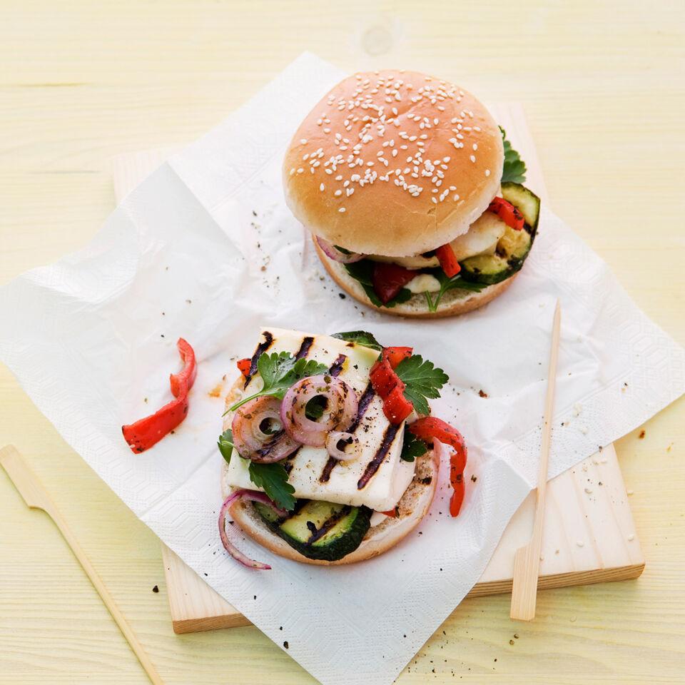 rezept f r halloumi burger k cheng tter. Black Bedroom Furniture Sets. Home Design Ideas