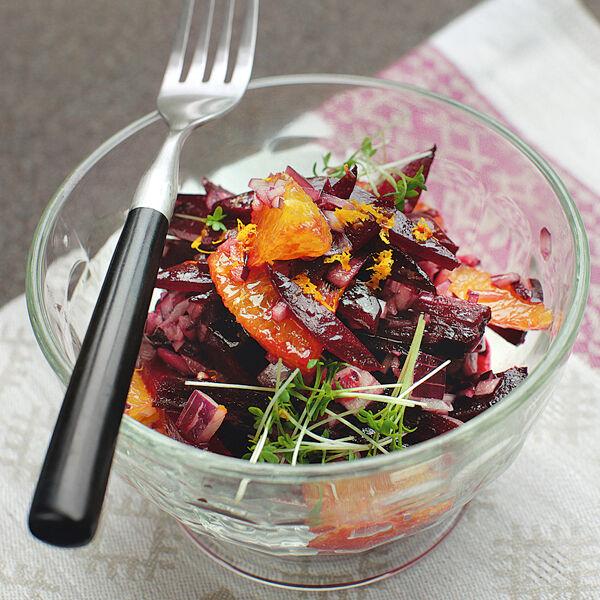 rote bete orangen salat rezept k cheng tter. Black Bedroom Furniture Sets. Home Design Ideas