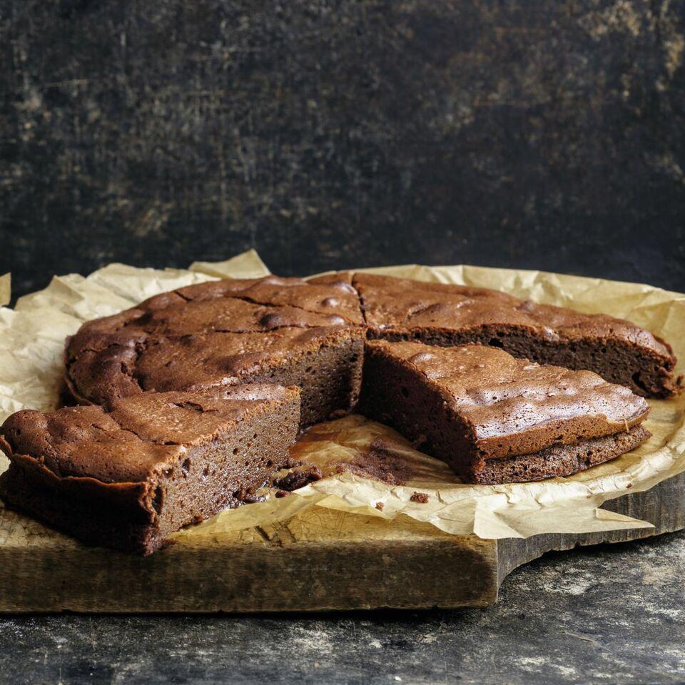 Schoko Kuchen Mit Nur Drei Zutaten Rezept Kuchengotter