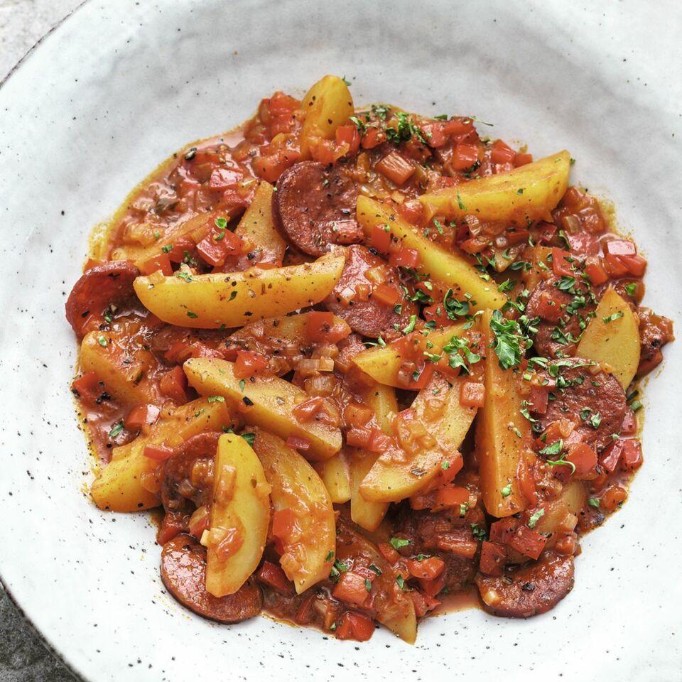 Kartoffel-Chorizo-Gulasch