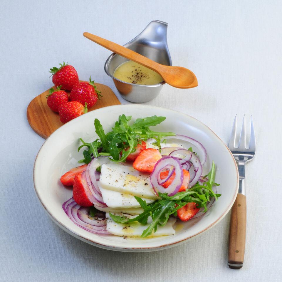 rucola erdbeer salat rezept k cheng tter. Black Bedroom Furniture Sets. Home Design Ideas