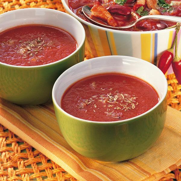 schnelle party tomatensuppe rezept k cheng tter. Black Bedroom Furniture Sets. Home Design Ideas