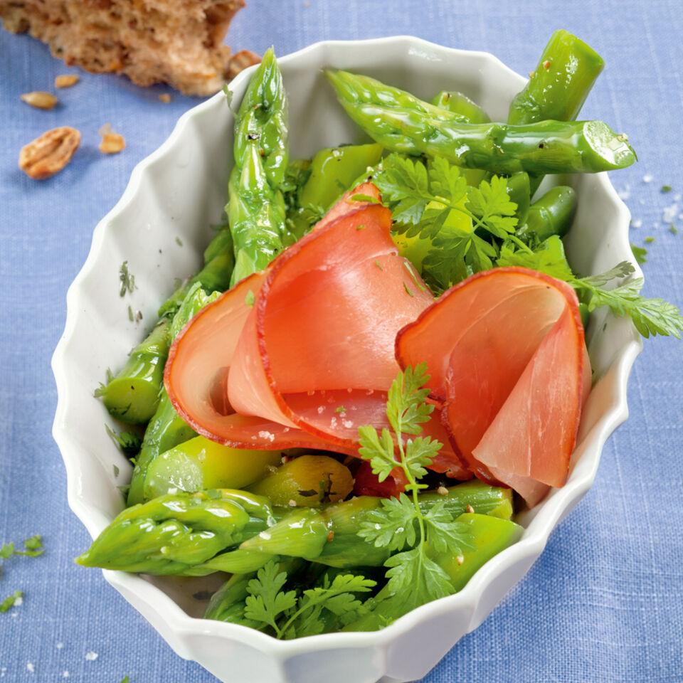 spargelsalat mit radieschen-vinaigrette rezept | küchengötter - Küchengötter Schlank Im Schlaf
