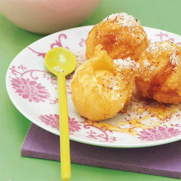 frittiertes eis mit limetten honig sauce rezept k cheng tter. Black Bedroom Furniture Sets. Home Design Ideas
