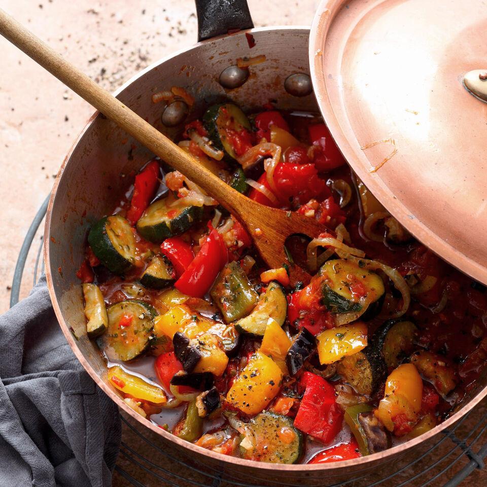 Rezepte mit auberginen zucchini und paprika