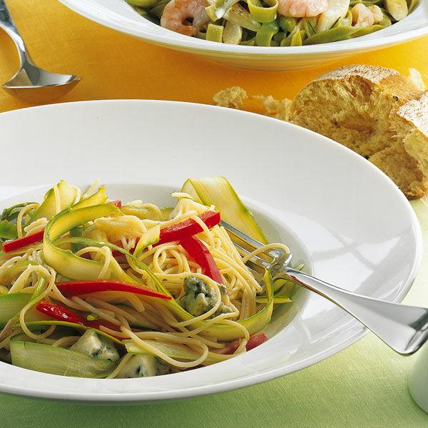 spargel pasta mit gorgonzola rezept k cheng tter. Black Bedroom Furniture Sets. Home Design Ideas