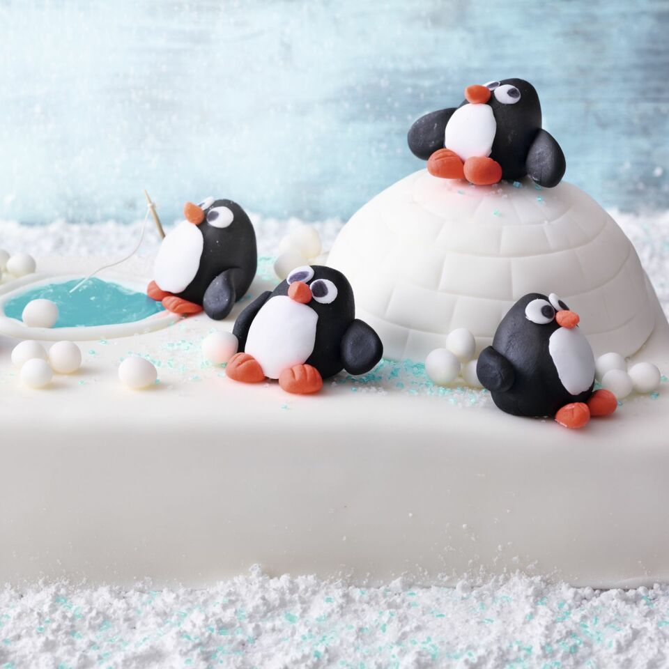 pinguin torte rezept und anleitung k cheng tter. Black Bedroom Furniture Sets. Home Design Ideas