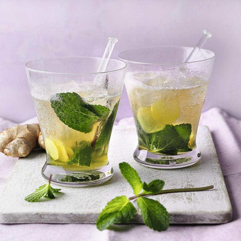 Ingwer-Gingerale-Drink oder Virgin alla Inge