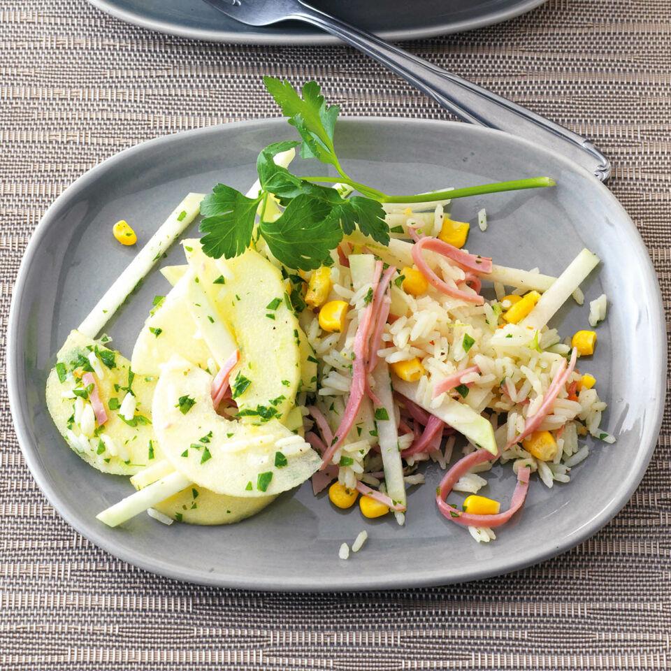 kohlrabi reis salat mit schinken rezept k cheng tter. Black Bedroom Furniture Sets. Home Design Ideas