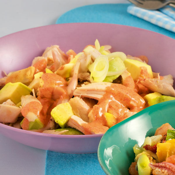 Hähnchensalat Rezept | Schlank im Schlaf | Küchengötter