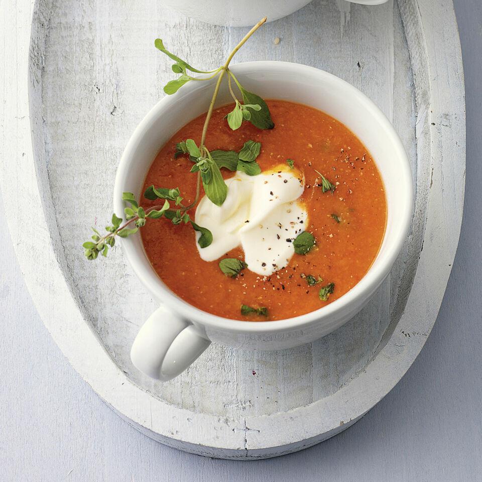 rezept f r rote linsen paprika suppe k cheng tter. Black Bedroom Furniture Sets. Home Design Ideas