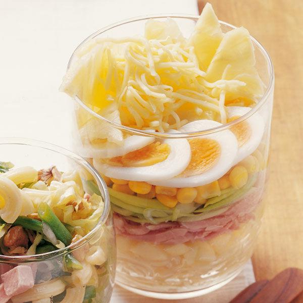 Partysalat Mit Lauch Und Schinken Rezept Küchengötter