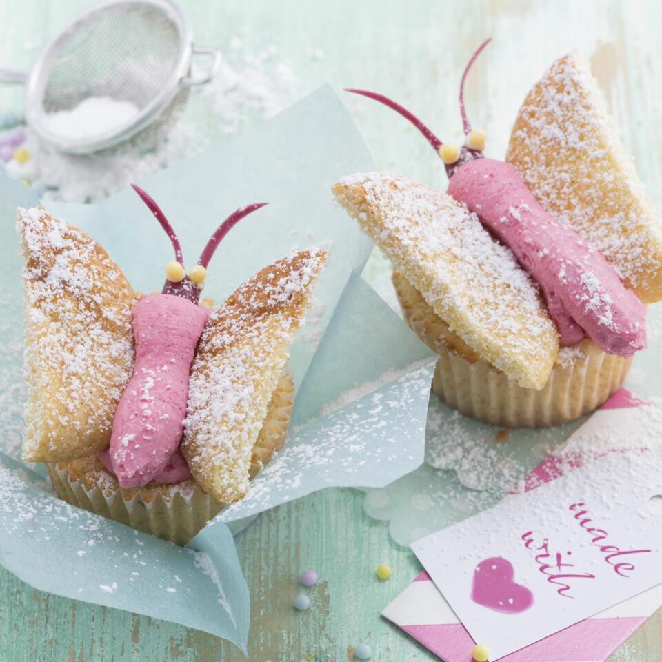 Schmetterling-Cupcakes Rezept | Küchengötter